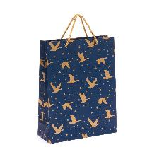 Winter skies gift bag, large product photo
