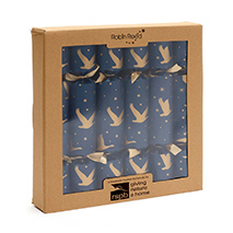 Winter skies origami crackers product photo