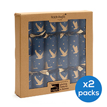Winter skies origami crackers x12 product photo