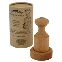 Wooden paper pot press product photo
