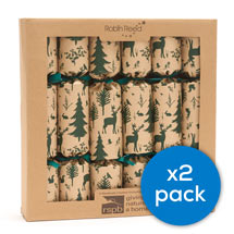 Woodland recycled crackers, two boxes of 6 product photo