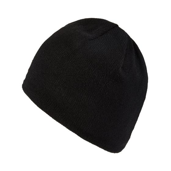 Sealskinz waterproof beanie, black product photo Front View - additional image 1 L