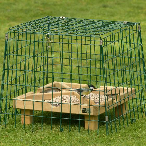 Ground feeding sanctuary narrow mesh product photo Back View -  - additional image 2 L