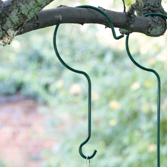 Tree hook for hanging bird feeders 30cm product photo Front View - additional image 1 L