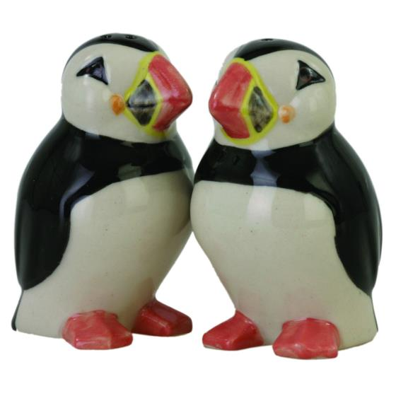 Puffin cruet set product photo Front View - additional image 1 L