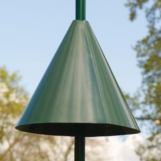 Squirrel guard pole mounted cone product photo Default L