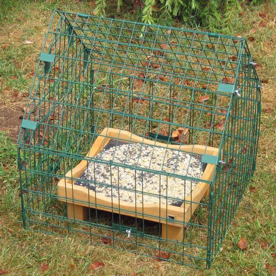 Adjustable ground feeding sanctuary product photo Front View - additional image 1 L