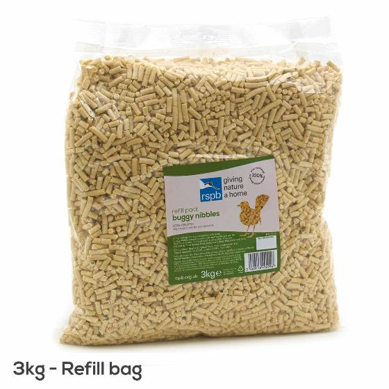 Buggy nibbles 3kg refill bag product photo