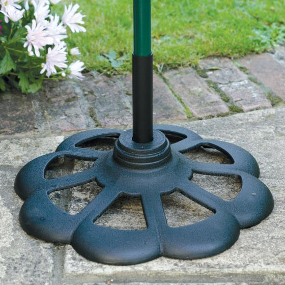 Patio base for bird feeder poles product photo