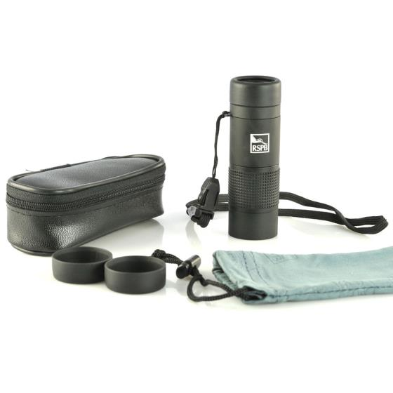 RSPB 8 x 20 HD monocular product photo Front View - additional image 1 L
