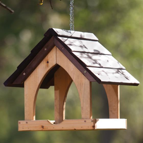 Gothic Hanging Bird Table - RSPB Shop