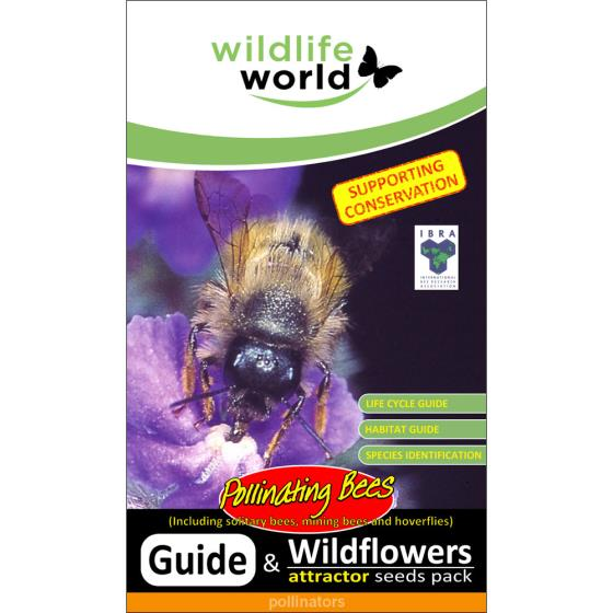 Pollinating bee attractor seed pack product photo Front View - additional image 1 L