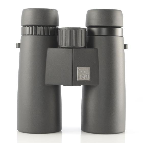 RSPB HDX 8 x 42 binoculars product photo Front View - additional image 1 L