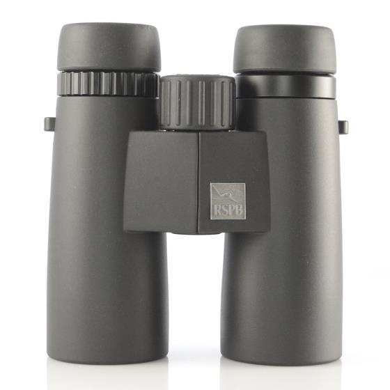RSPB HDX 10 x 42 binoculars product photo Front View - additional image 1 L
