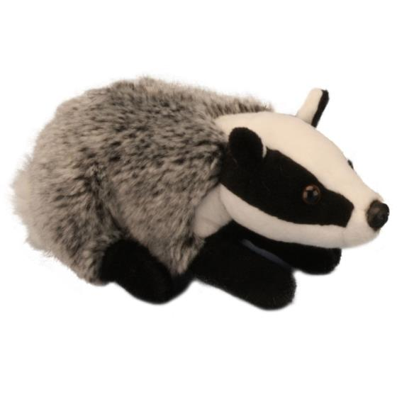 Living Nature badger plush soft toy product photo Default L