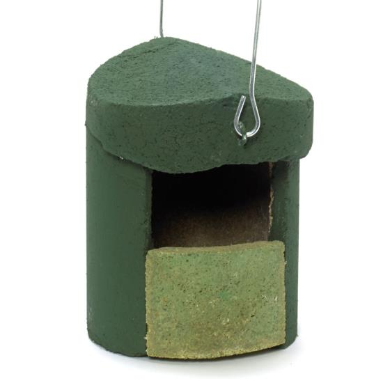 Woodcrete by Schwegler open-front nestbox product photo Back View -  - additional image 2 L