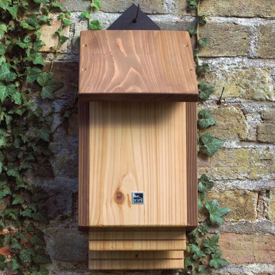 RSPB Burford bat box & bat attractor seeds product photo Front View - additional image 1 L