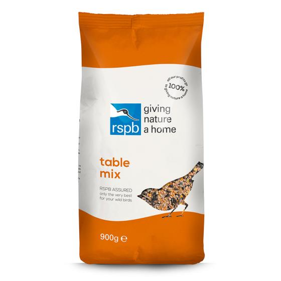 Table mix bird seed 900g product photo Back View -  - additional image 2 L