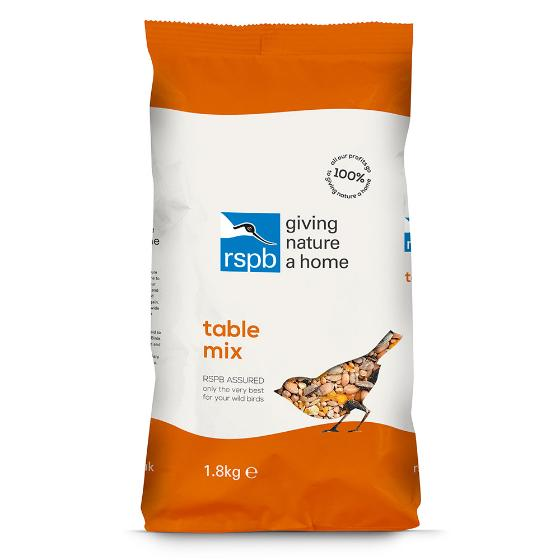 Table mix bird seed 1.8kg product photo Back View -  - additional image 2 L