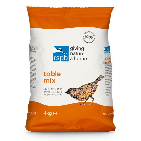 Table mix bird seed 4kg product photo Back View -  - additional image 2 L