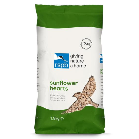 Premium sunflower hearts bird seed 1.8kg product photo Back View -  - additional image 2 L
