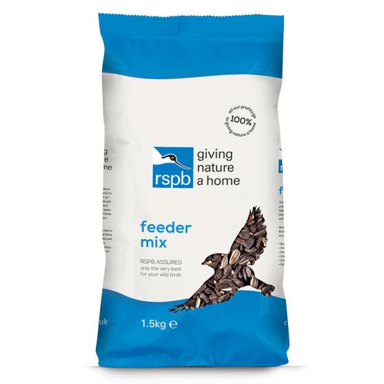 Feeder mix bird food 1.5kg product photo Back View -  - additional image 2 L