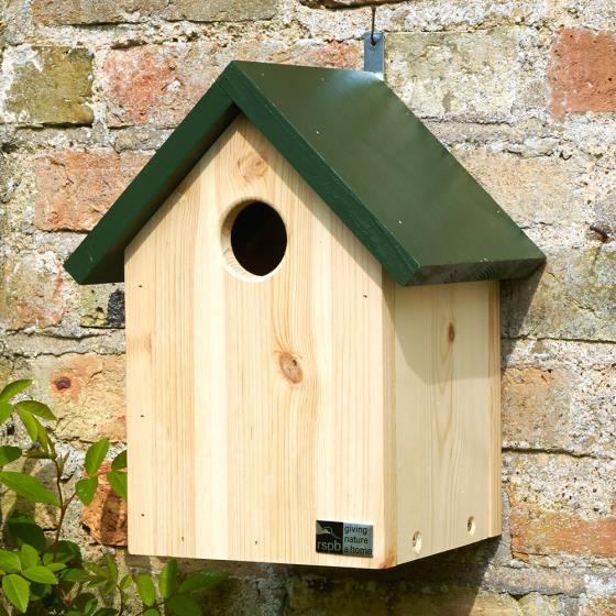 Apex starling nestbox product photo Front View - additional image 1 L