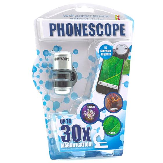 Phonescope phone camera magnifier product photo additional image 4 L