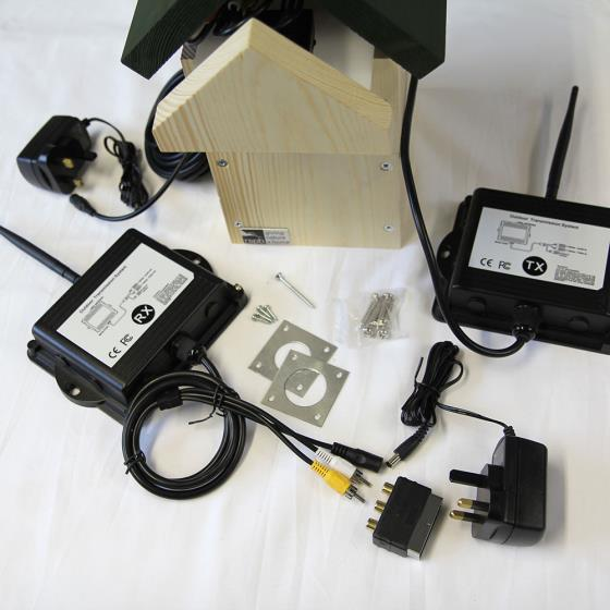 Wireless nest box camera system product photo Side View -  - additional image 3 L