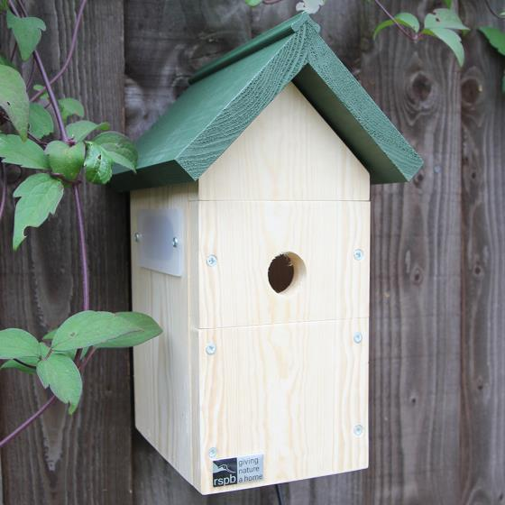 Nest box camera system product photo Back View -  - additional image 2 L