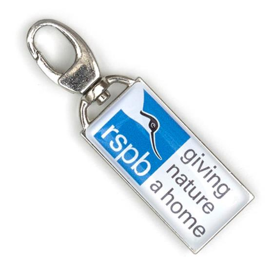 Zip Buddy, RSPB robin product photo Back View -  - additional image 2 L