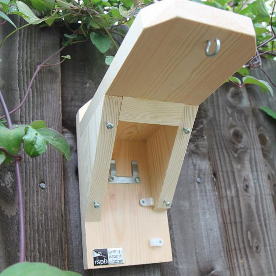 Bird feeder camera housing (only) product photo Front View - additional image 1 L
