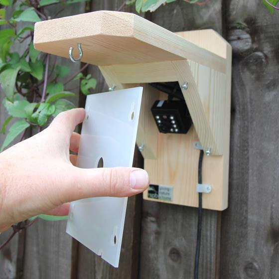Bird feeder camera housing (only) product photo Side View -  - additional image 3 L