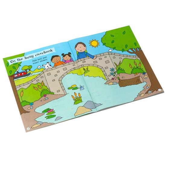 My First Birds and Wildlife Activity and Sticker Book product photo Front View - additional image 1 L