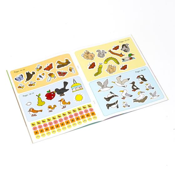 My First Birds and Wildlife Activity and Sticker Book product photo Back View -  - additional image 2 L
