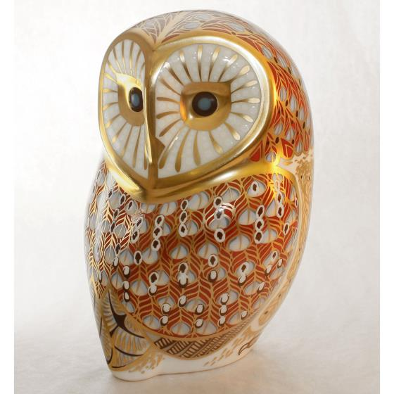 Royal Crown Derby, Barn Owl paperweight product photo