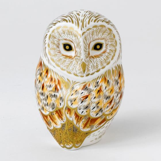 Royal Crown Derby, Winter Owl paperweight product photo