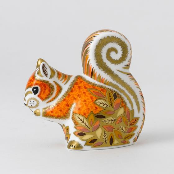 Royal Crown Derby, Squirrel paperweight product photo Front View - additional image 1 L