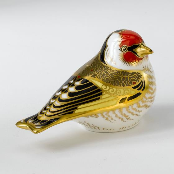 Royal Crown Derby, Goldfinch paperweight product photo