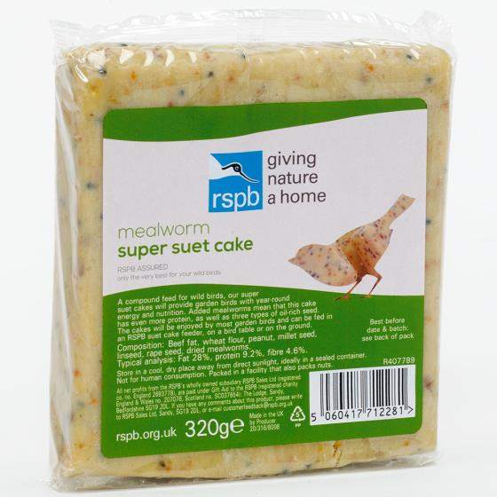 Super suet cakes mealworm x40 product photo Front View - additional image 1 L