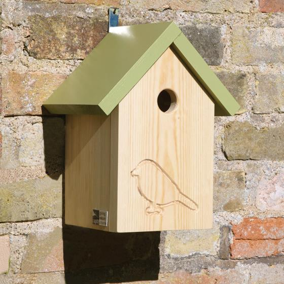 RSPB Silhouette classic apex nest box product photo Default L