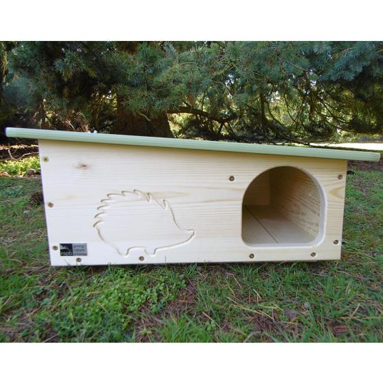 RSPB Silhouette hedgehog home product photo Front View - additional image 1 L