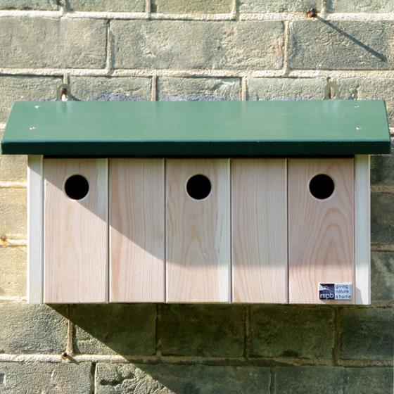 RSPB Sparrow terrace nest box product photo