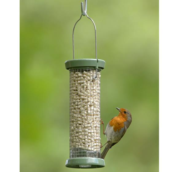 RSPB Ultimate Easy-clean nut & nibble feeder, small product photo Front View - additional image 1 L