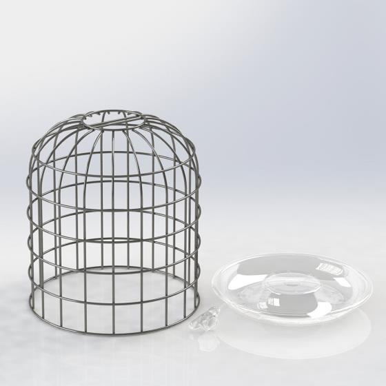 RSPB Ultimate bird feeder guardian, small product photo