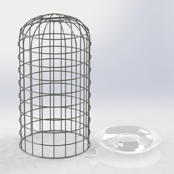 RSPB Ultimate bird feeder guardian, medium product photo