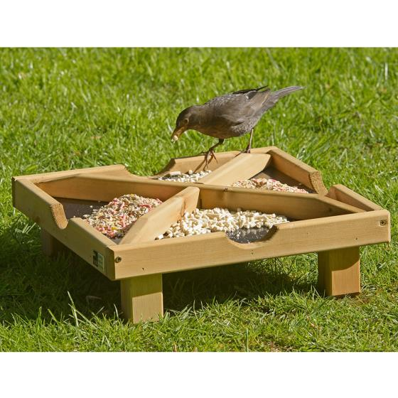 RSPB Ground feeding table product photo Front View - additional image 1 L