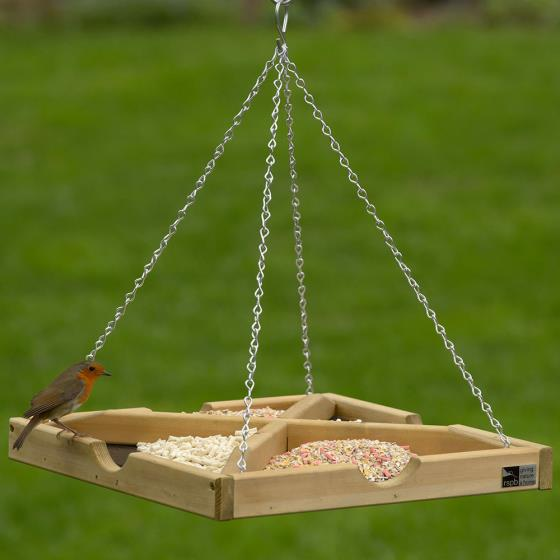 RSPB Hanging bird table product photo Front View - additional image 1 L