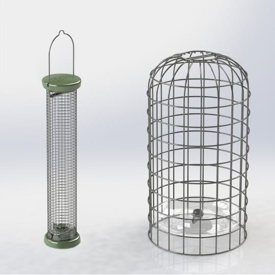 RSPB Ultimate nut & nibble feeder + guardian, medium product photo Default L