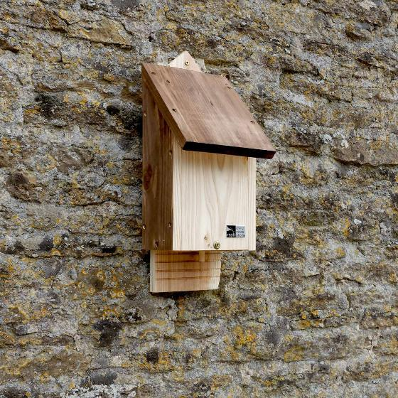 RSPB Single chamber bat box & seeds product photo Back View -  - additional image 2 L